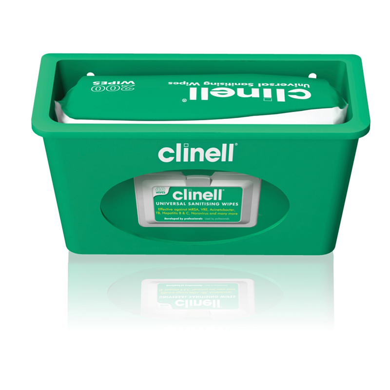 Clinell Wipes Dispenser