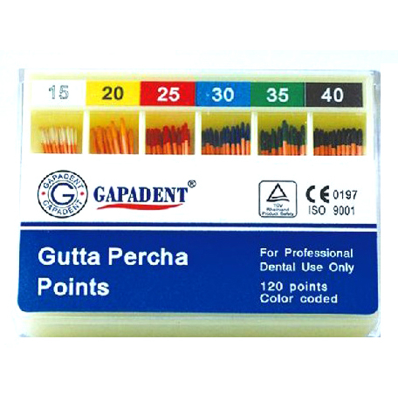 K Flexi Gutta Percha Points Size 35 120 Pcs Per Box