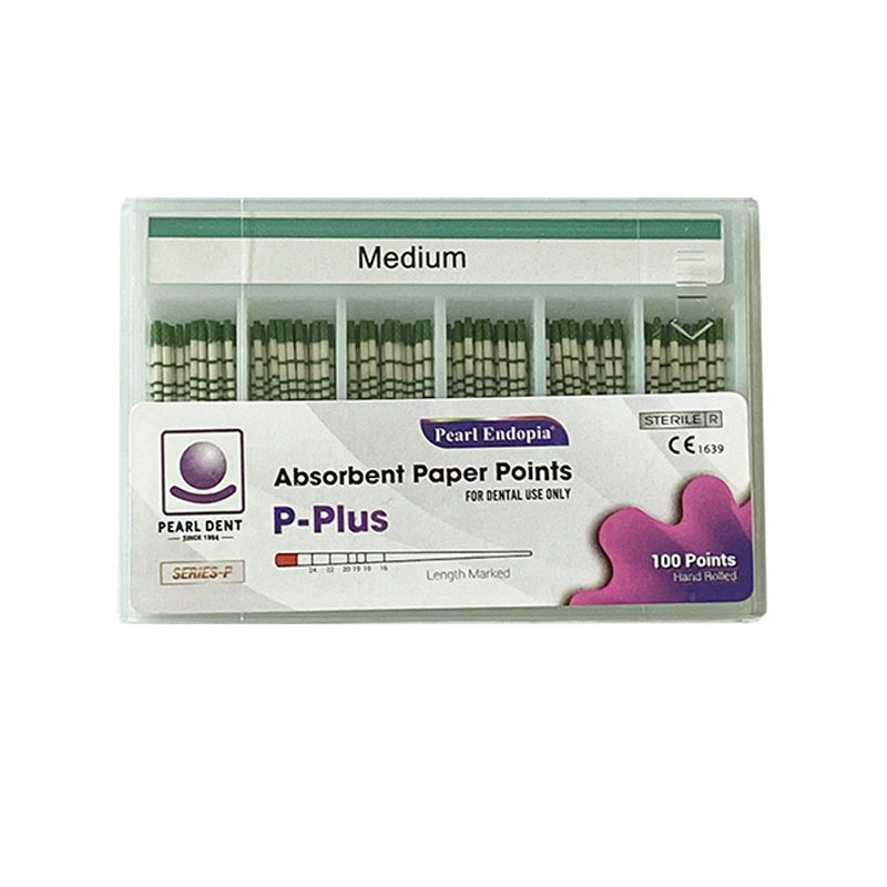 To & Fro Plus Paper Points Medium Green x 60