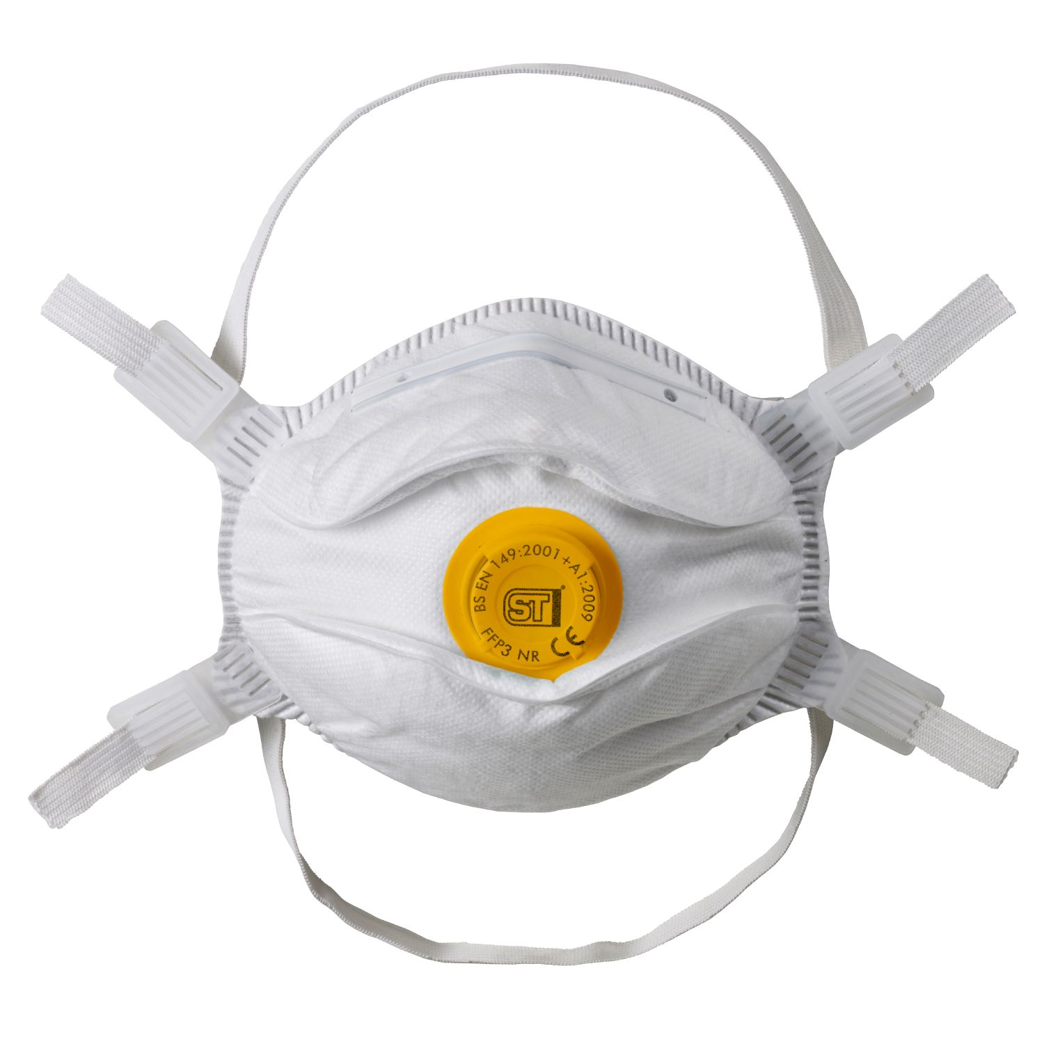 FFP3 Valved Moulded Respirator (10 Pcs)