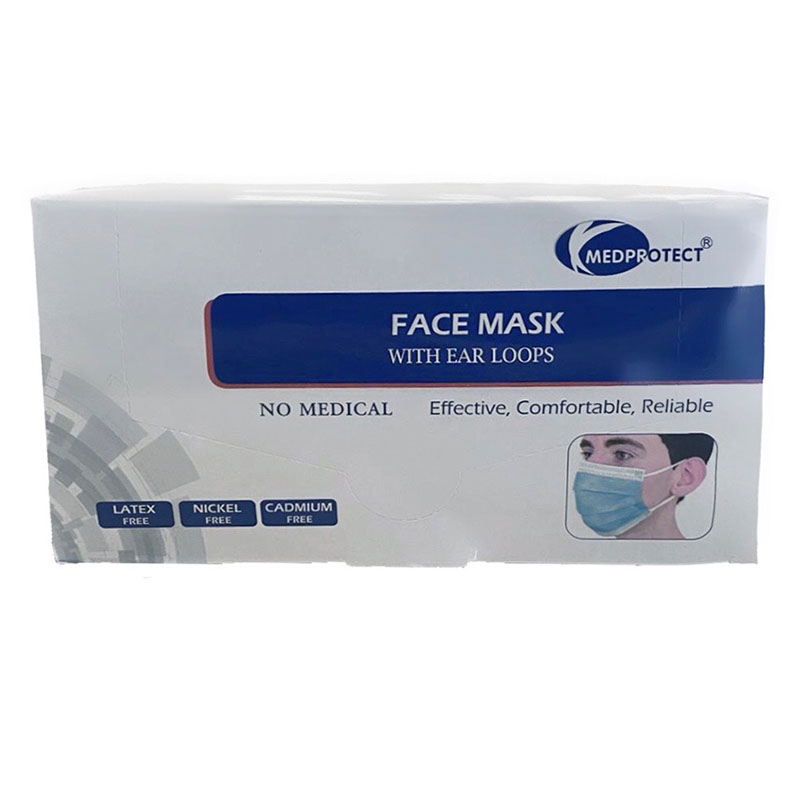 3 Ply - Ear Loop Disposable Face Covering  (50 pcs)