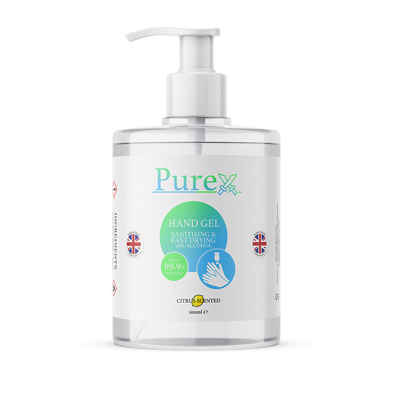 Purex 500ml Hand Sanitiser Gel